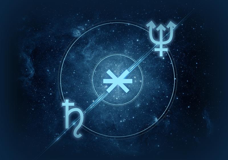Neptune Saturn Sextile