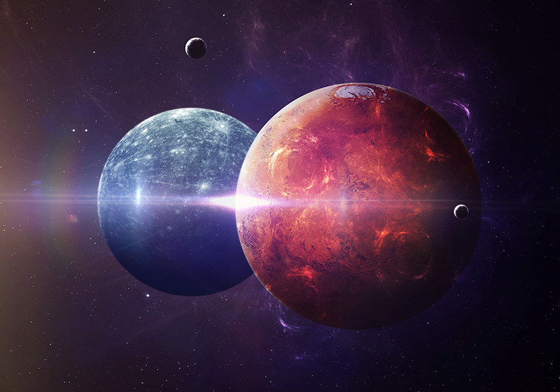 Celestial conjunction of Mercury and Mars brings a time period when